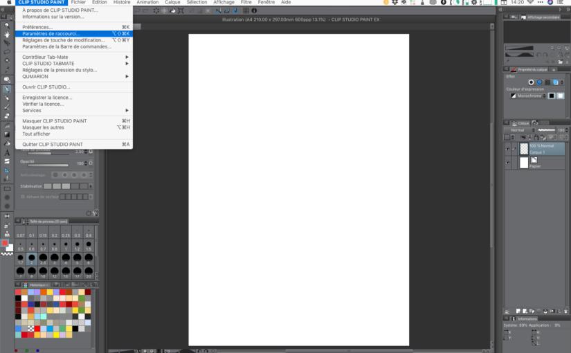 3 trucs essentiels pour utiliser Clip Studio Paint